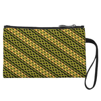 Trusses of make-up yellow Jimette Design Wristlet