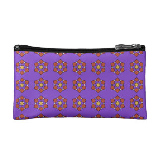 """Trusses of small size make-up, """"Rosettes """" Cosmetic Bags"""