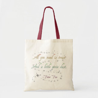 Trust and Pixie Dust Budget Tote