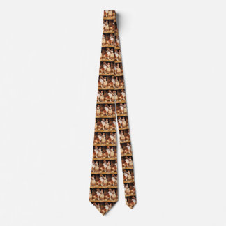 Trust by Charles Burton Barber, Saint Bernard dog Tie
