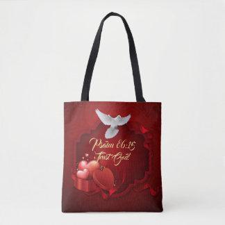 Trust God Always  All-Over-Print Tote Bag, Medium