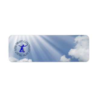 TRUST GOD RETURN ADDRESS LABEL
