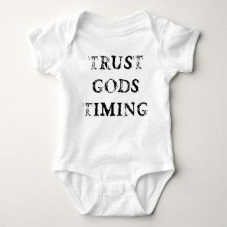 Trust Gods Timing Baby Bodysuit