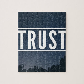 Trust hipster typography jigsaw puzzle