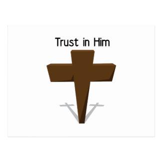 Trust In Him Postcards