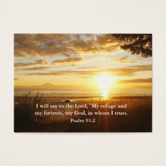 Trust in the Lord Christian Inspiration Card