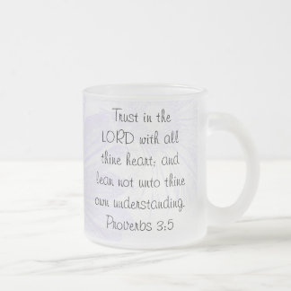 Trust in the LORD Frosted Mug