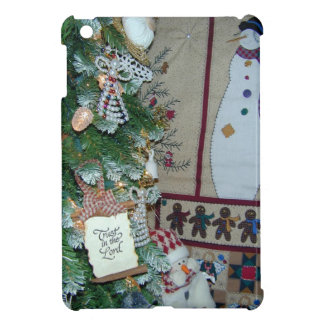 Trust in the Lord Gingerbread Snowmen & Angels Case For The iPad Mini