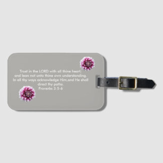 Trust In The Lord  Luggage Tags