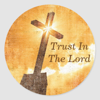 Trust In The Lord Stickers