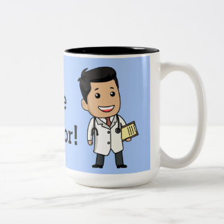 Trust Me Doc Two-Tone Coffee Mug