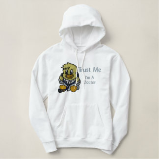Trust Me Duck Embroidered Hoodie