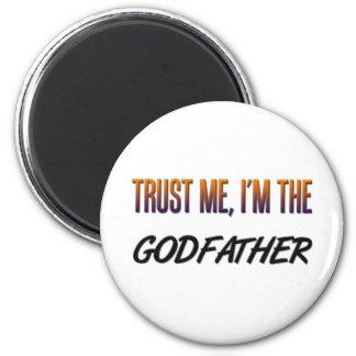 Trust Me Godfather Fridge Magnets