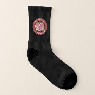Trust me, I am a Butcher T-bone Socks