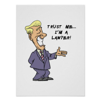 Trust Me I am a Lawyer Poster