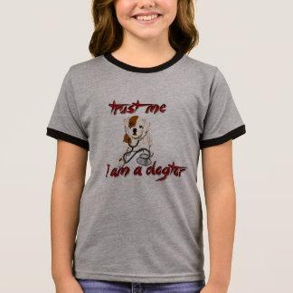 trust me i am dogtor vet funny doctor joke shirt