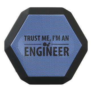 Trust me I am engineer Black Bluetooth Speaker