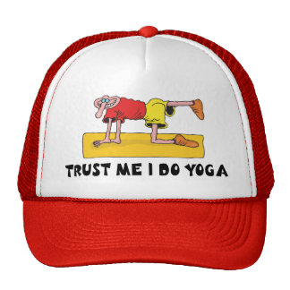 Trust Me I Do Yoga Gift Hats
