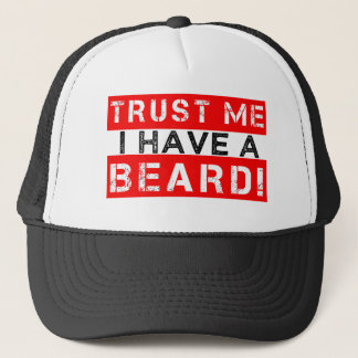 Trust Me I have a Beard funny men's hat