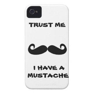 Trust me I have a MUSTACHE Case-Mate iPhone 4 Case