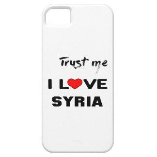 Trust me I love Syria. iPhone 5 Cases