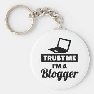 Trust me I'm a blogger Key Ring
