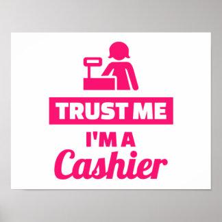 Trust me I'm a cashier Poster