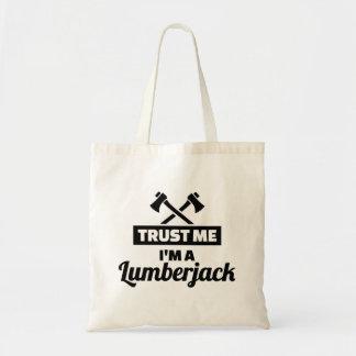 Trust me I'm a lumberjack Tote Bag