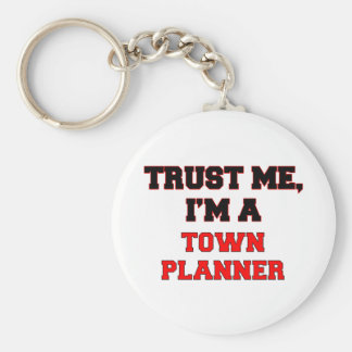 Trust Me I m a My Town Planner Keychains