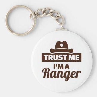 Trust me I'm a ranger Key Ring