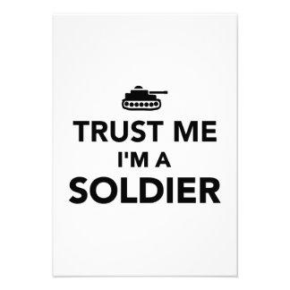 Trust me I m a Soldier Invite