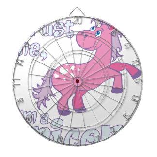 trust me i´m a unicorn dartboard