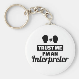 Trust me I'm an Interpreter Key Ring