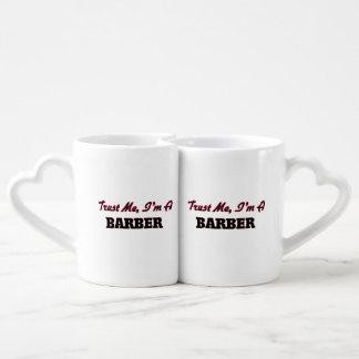 Trust me I'm a Barber Couple Mugs