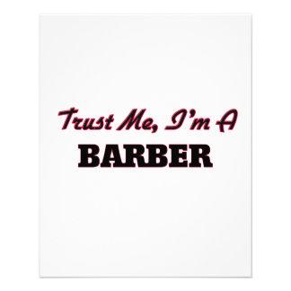 Trust me I'm a Barber Flyer