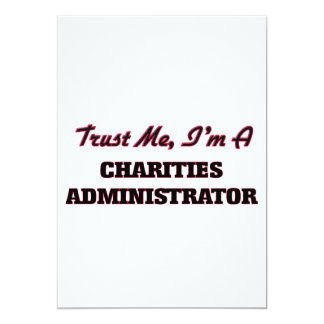 Trust me I'm a Charities Administrator Invites