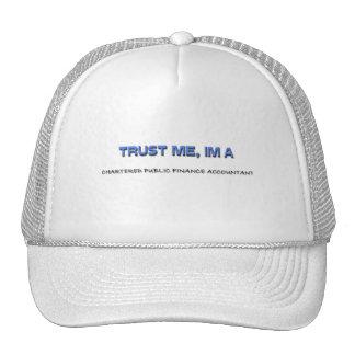 Trust Me I'm a Chartered Public Finance Accountant Mesh Hats