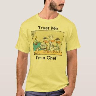 Trust Me I'm A Chef Funny Mens Shirt