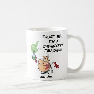 Trust Me... I'm a Chemistry Teacher Basic White Mug