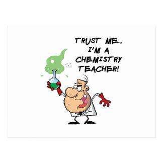 Trust Me... I'm a Chemistry Teacher Postcard