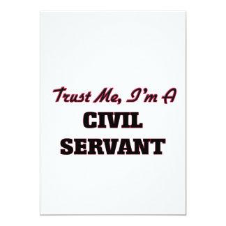 Trust me I'm a Civil Servant 5x7 Paper Invitation Card
