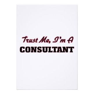 Trust me I'm a Consultant Announcement
