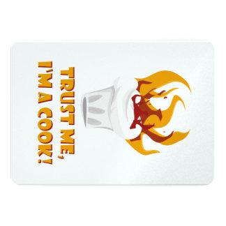 Trust me i'm a cook! card