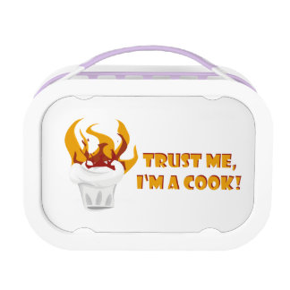 Trust me i'm a cook! lunch box