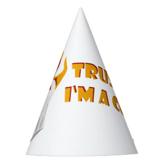 Trust me i'm a cook! party hat