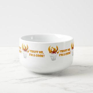 Trust me i'm a cook! soup mug