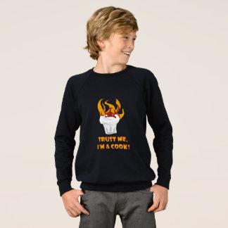 Trust me i'm a cook! sweatshirt