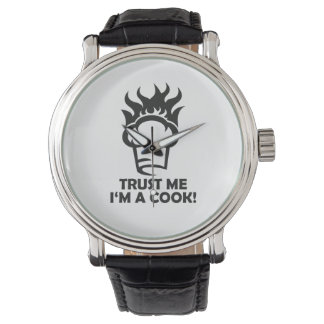 Trust me i'm a cook! wrist watches