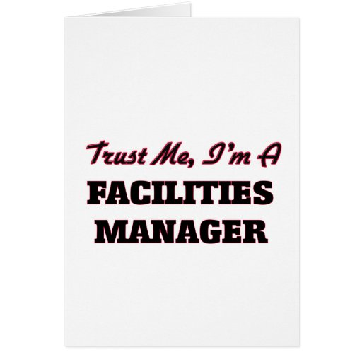 Trust me I'm a Facilities Manager Cards