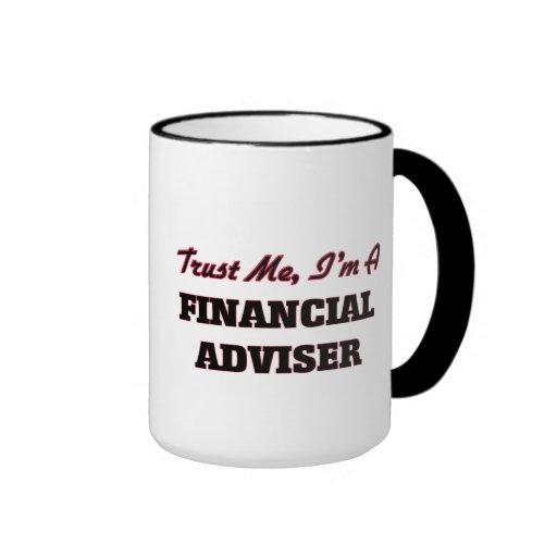Trust me I'm a Financial Adviser Coffee Mugs